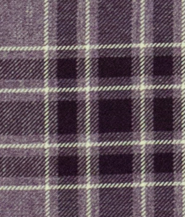 Argyle Burgundy Fabric by the Metre