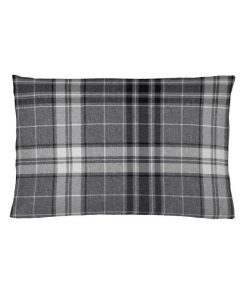 Argyle Charcoal Cushion