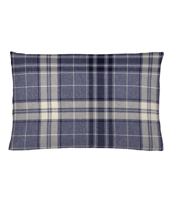 Argyle Denim Cushion