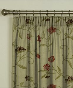 Charlotte Chintz Pencil Pleat Curtains