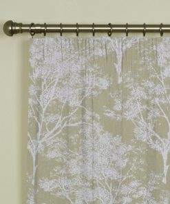 Charnwood Barley Pencil Pleat Curtains