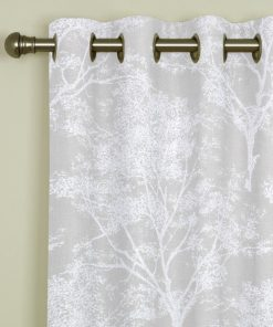 Charnwood Pearl Eyelet Curtains