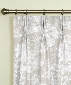 Charnwood Stone Pinch Pleat Curtains