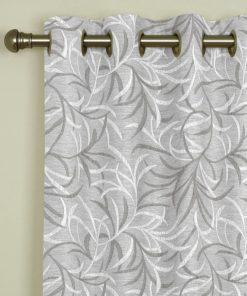 Eden Taupe Eyelet Curtains