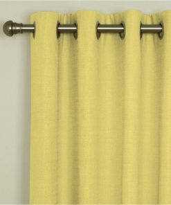 Sicily Gold Eyelet Curtains