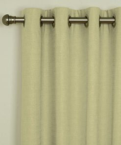 Sicily Latte Eyelet Curtains