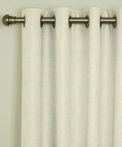 Sicily Oyster Eyelet Curtains