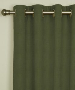 Sicily Sage Eyelet Curtains