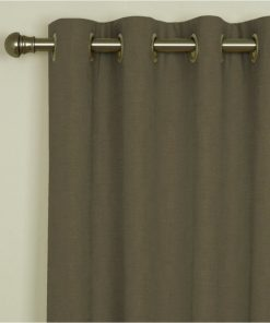 Sicily Taupe Eyelet Curtains