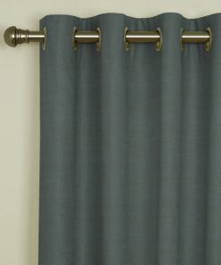 Sicily Teal Eyelet Curtains