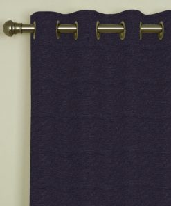 Trento Plum Eyelet Curtains