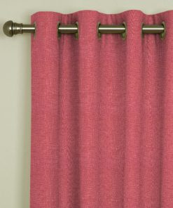 Tuscany Blush Eyelet Curtains