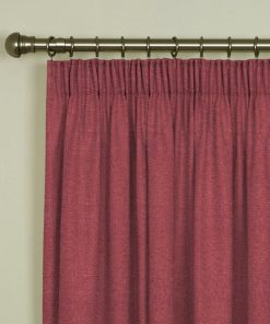 Tuscany Blush Pencil Pleat Curtains