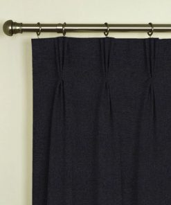 Tuscany Charcoal Pinch Pleat Curtains