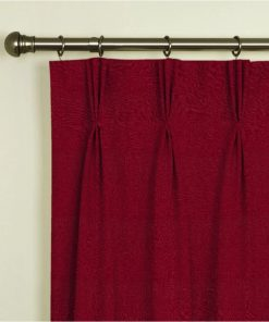 Tuscany Claret Pinch Pleat Curtains