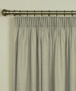 Tuscany Cream Pencil Pleat Curtains