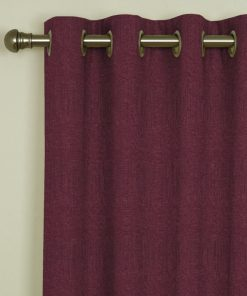 Tuscany Grape Eyelet Curtains