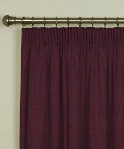 Tuscany Grape Pencil Pleat Curtains