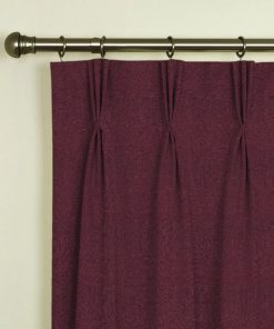 Tuscany Grape Pinch Pleat Curtains