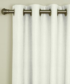 Tuscany Ivory Eyelet Curtains