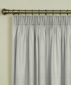 Tuscany Ivory Pencil Pleat Curtains