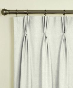 Tuscany Ivory Pinch Pleat Curtains