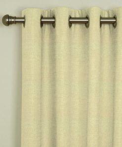 Tuscany Latte Eyelet Curtains