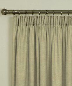 Tuscany Latte Pencil Pleat Curtains