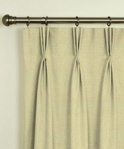 Tuscany Latte Pinch Pleat Curtains