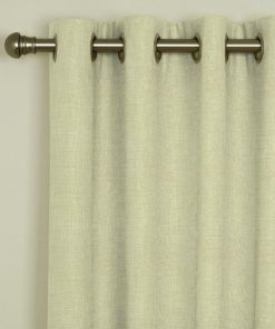 Tuscany Linen Eyelet Curtains