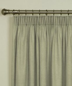 Tuscany Linen Pencil Pleat Curtains