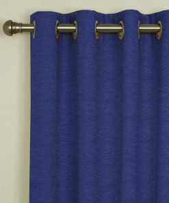 Tuscany Ocean Eyelet Curtains