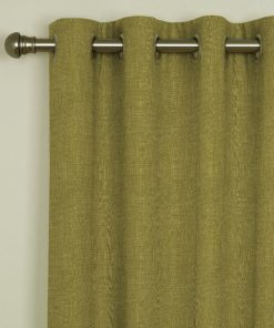 Tuscany Olive Eyelet Curtains