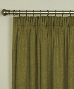 Tuscany Olive Pencil Pleat Curtains