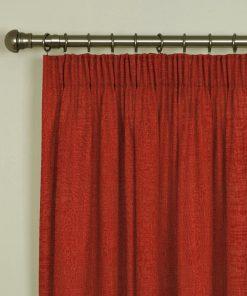 Tuscany Spice Pencil Pleat Curtains