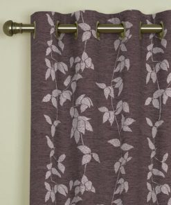 Willow Heather Eyelet Curtains