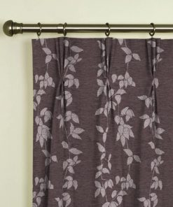 Willow Heather Pinch Pleat Curtains