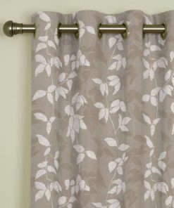 Willow Taupe Eyelet Curtains