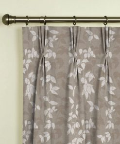 Willow Taupe Pinch Pleat Curtains