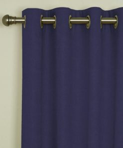 Sicily Wedgwood Eyelet Curtains