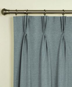 Trento Duckegg Pinch Pleat Curtains