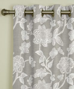 Corsica Dove Eyelet Curtains