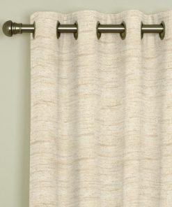 Eclipse Silk Eyelet Curtains