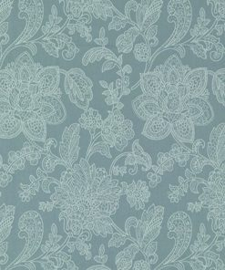 Lacey Teal Fabric Swatch