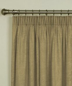Tuscany Wicker Pencil Pleat Curtains