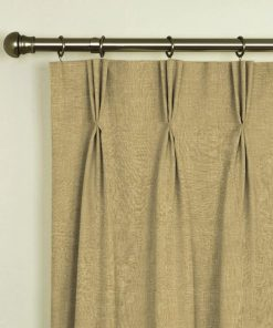 Tuscany Wicker Pinch Pleat Curtains