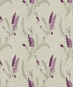 Arabella Heather Fabric Pelmet