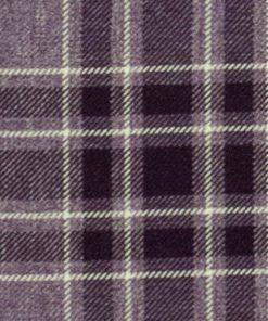 Argyle Burgundy Fabric Pelmet