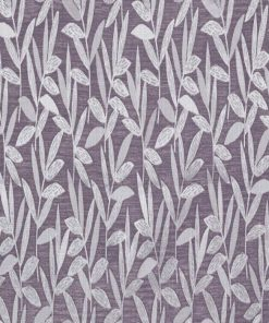 Ashton Mauve Pinch Pleat Curtains