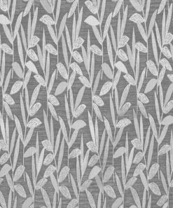 Ashton Pewter Fabric Pelmet